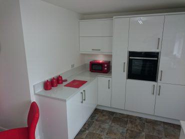 White Gloss Remo Kitchen